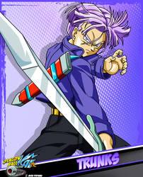 DBKai card #4 Trunks by Bejitsu