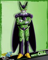 DBkai card #8 perfect cell by Bejitsu