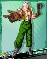 DBKai card #13 Android 13 by Bejitsu
