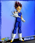 DBKai card #14 Vegeta