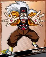 DBKai card #15 android 20 by Bejitsu