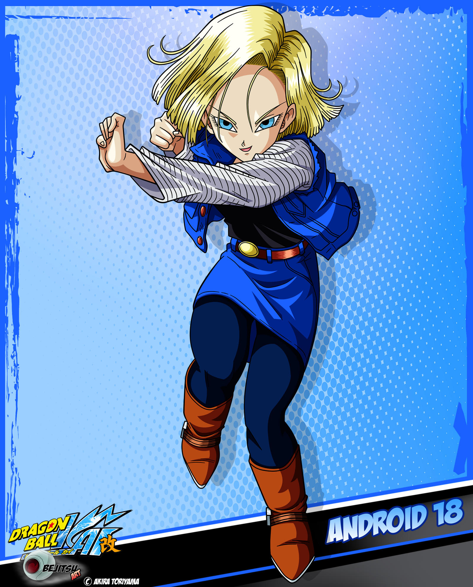 Android 18, Dragonball Z,