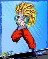 DBKai card #19 Goku ssj3 by Bejitsu