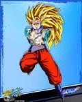 DBKai card #19 Goku ssj3