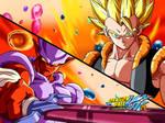 dragon ball kai Eyecatch- Gogeta vs Janemba