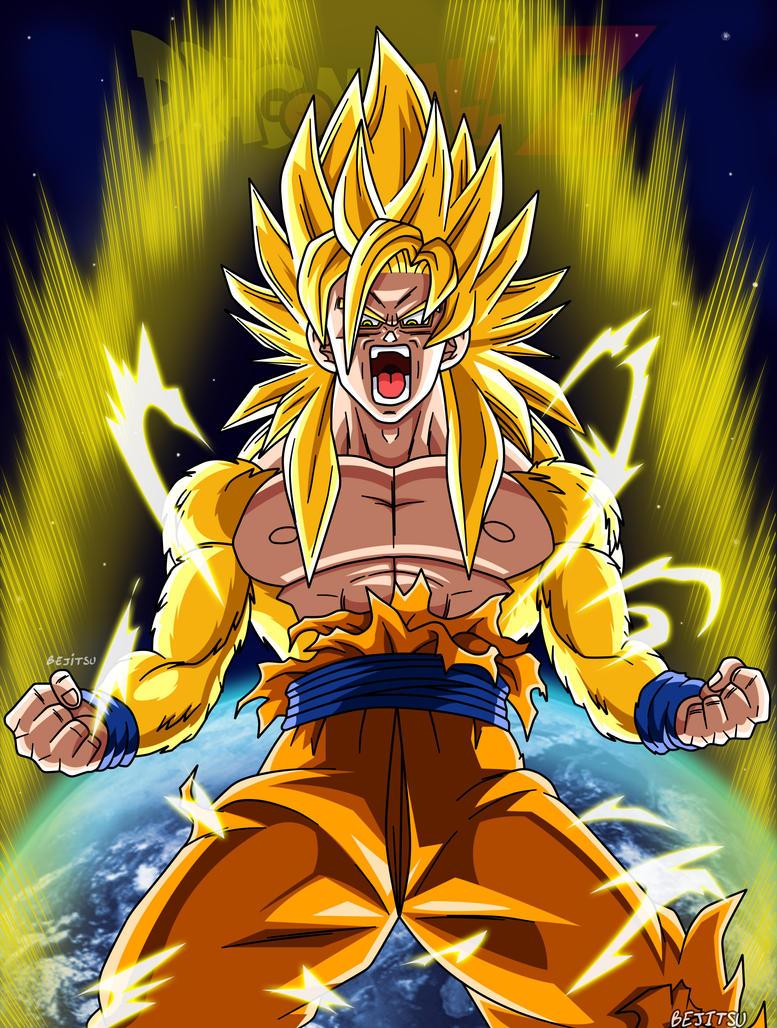 Goku ssj God my Version by Bejitsu on DeviantArt
