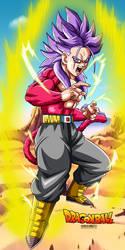 Mirai Trunks ssj4 by Bejitsu