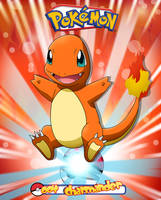 Pokemon - Charmander by Bejitsu