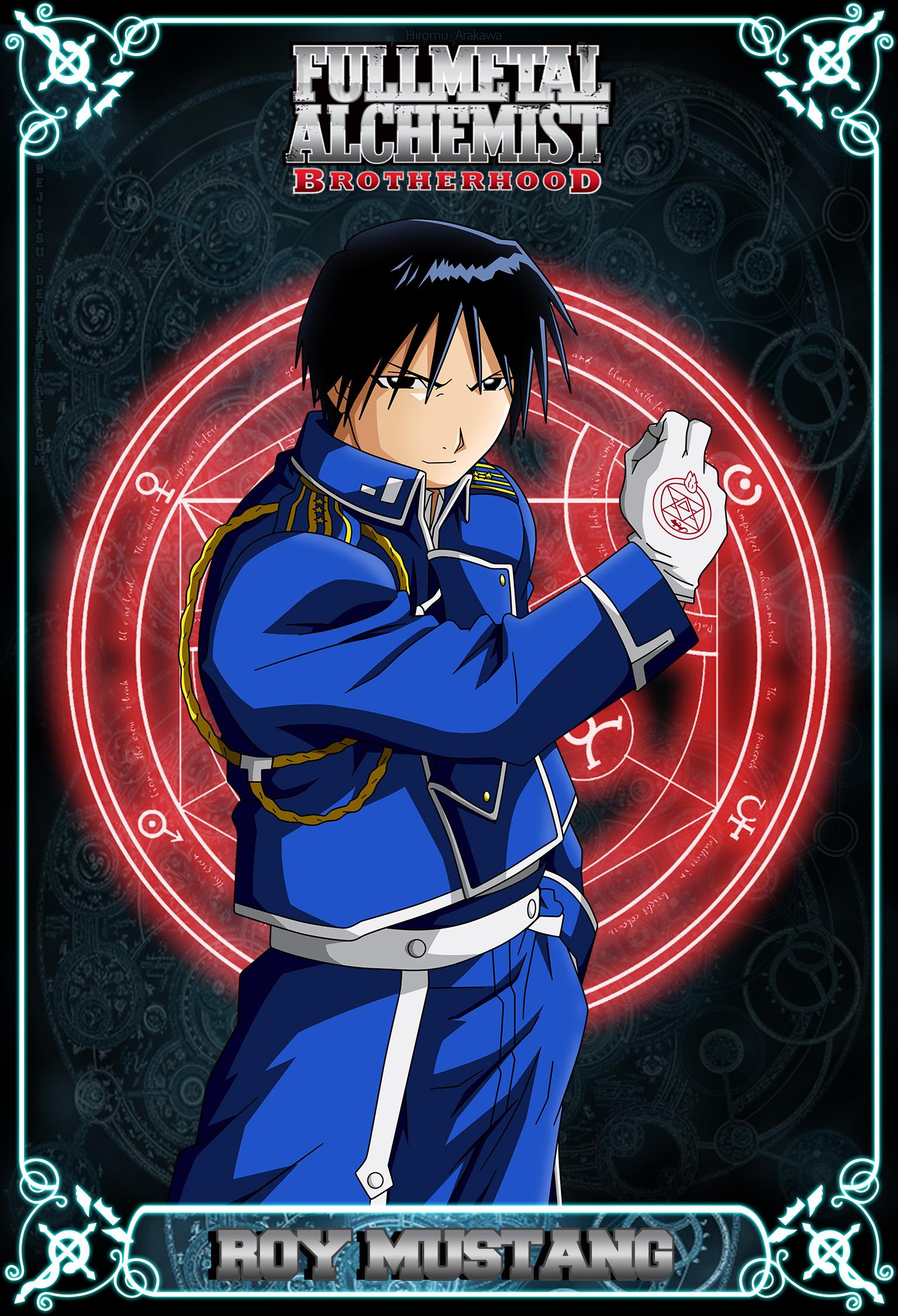 Full Metal Alchemist Brotherhood - Roy Mustang by Bejitsu