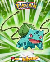 Pokemon - 001 Bulbasaur by Bejitsu