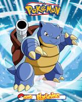 Pokemon - 009 Blastoise by Bejitsu