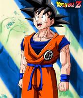 Dragon Ball Z - Goku by Bejitsu