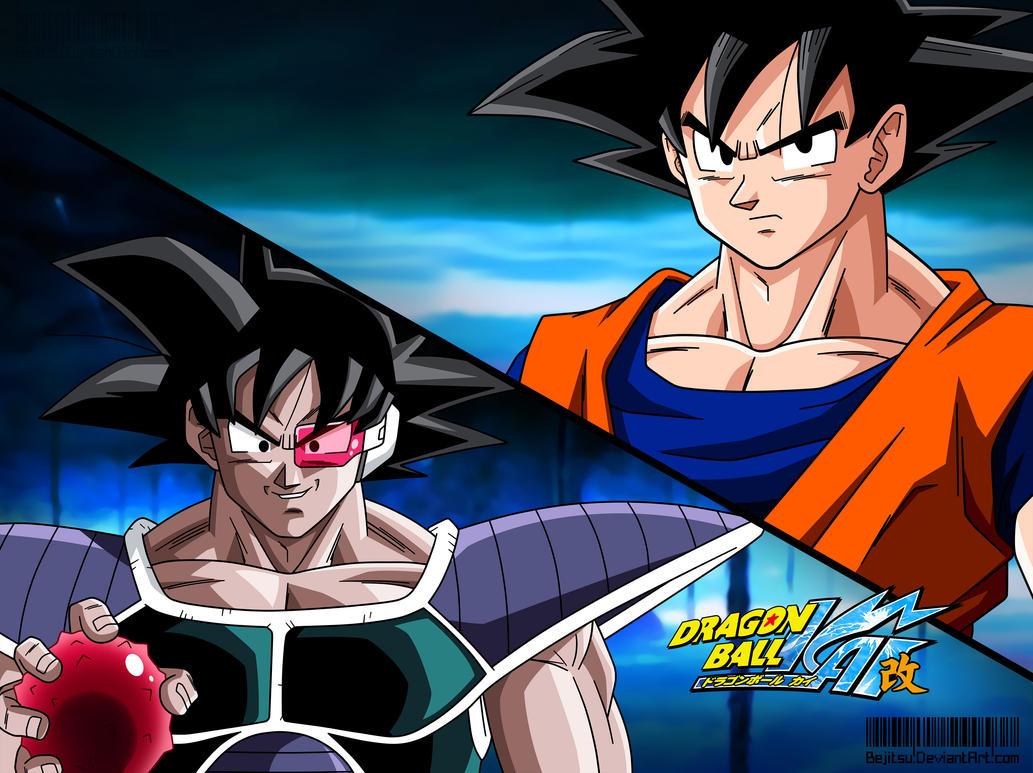 Anime Lookalikes Dragon_ball_kai_eyecatch__goku_vs_turles_by_bejitsu-d70lrgw