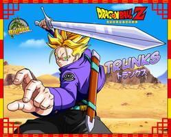Dragon ball z- Trunks by Bejitsu