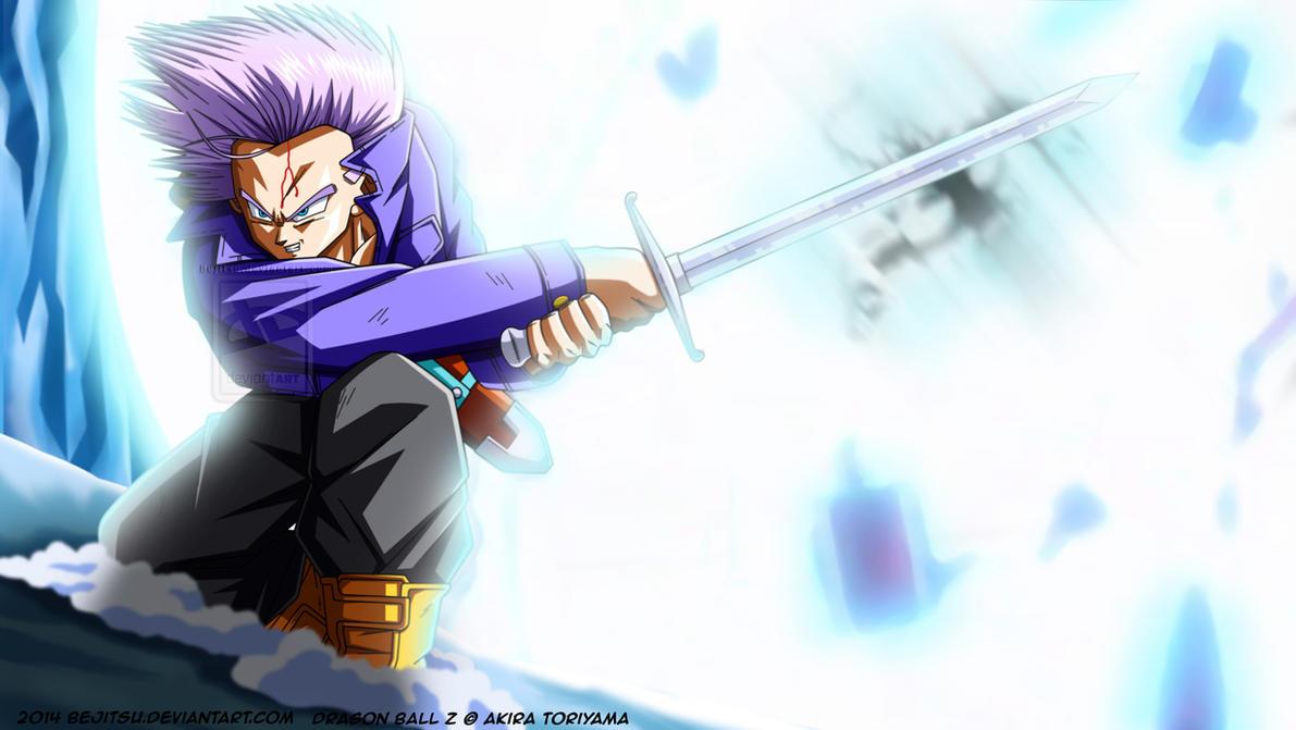Dragon Ball Z - Trunks by Bejitsu on DeviantArt