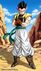 Dragon Ball - Gotenks Adult by Bejitsu