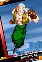New Card DBZ - Android 13 by Bejitsu