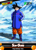 New Card DBSB - Son Goku by Bejitsu