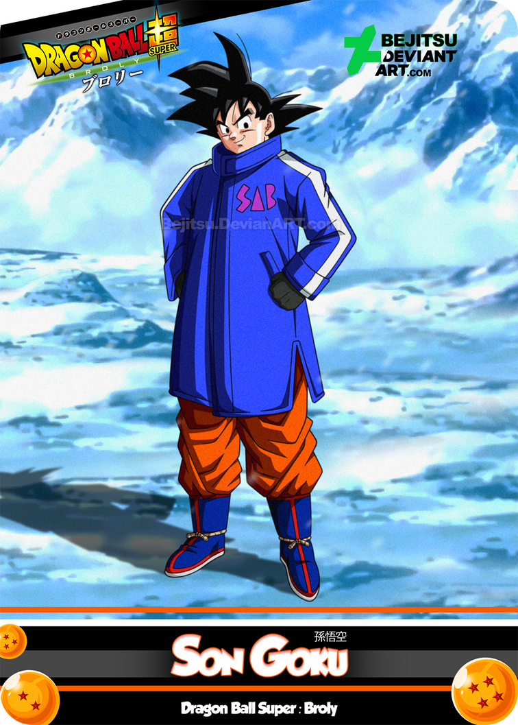 New Card DBSB - Son Goku by Bejitsu