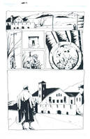 Comic Book Art Hellboy Page 1 by GDEAN