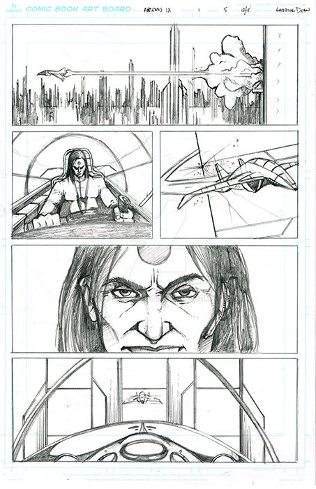 Top Cow Talent Contest 2016 Submission Page 5 by GDEAN