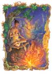 Fantasy Thai folk tale02 by ninejear