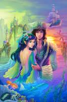 Prince of Heron and Lady of Badal by ninejear