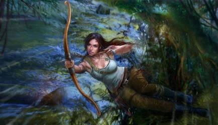 Tomb Raider by ninejear