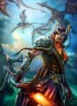 Dragon warrior.