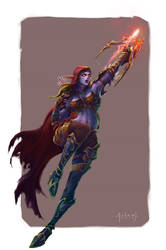 Heroes of the Storm Fan Art by ninejear
