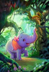 Elephant Diary by ninejear