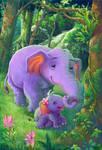 Elephant Diary2 by ninejear