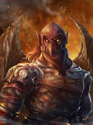 Dark Garuda by ninejear