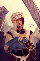 Wrathion and Drakenduin by Ninra