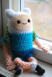 Adventure Time Finn Doll