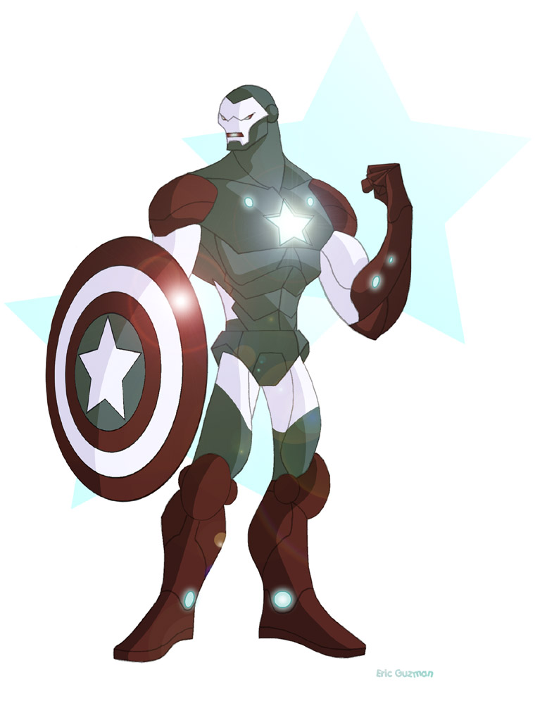 Iron Avenger by EricGuzman