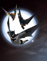 Bat Fam by EricGuzman