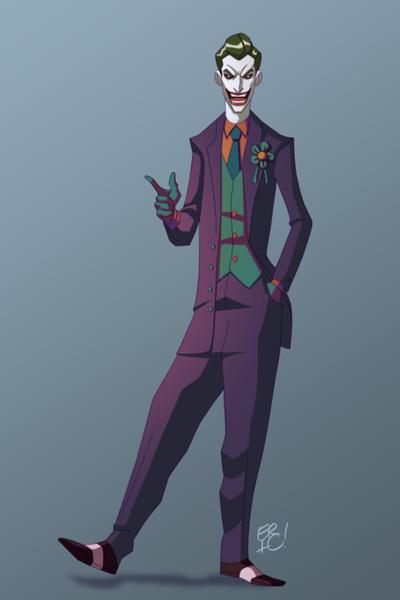 The Joker by EricGuzman
