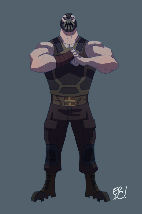 Animated Dark Knight Rises Bane by EricGuzman