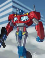 Optimus Prime Sketch by EricGuzman