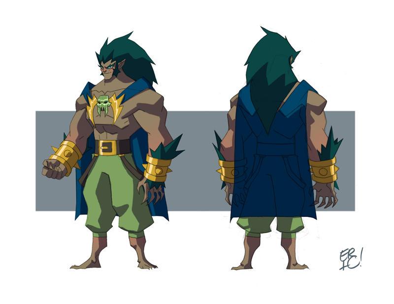 Beast Man Concept by EricGuzman