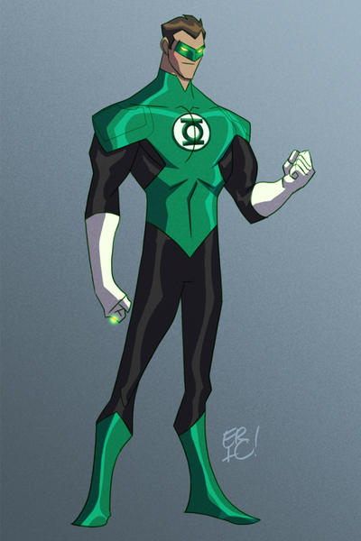 Green Lantern by EricGuzman