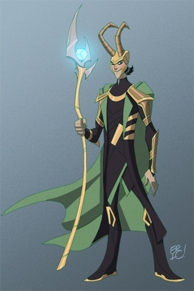 The Avengers Loki by EricGuzman