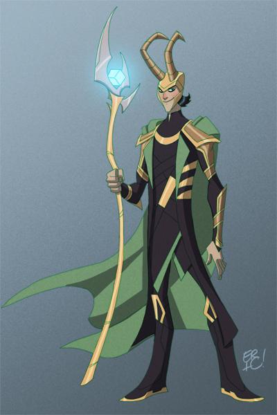 The Avengers Loki by EricGuzman