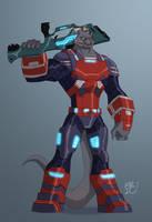 Captain Draco Commission by EricGuzman