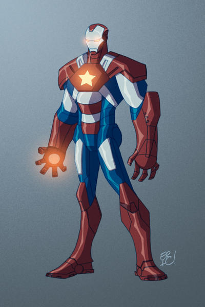 Iron Patriot by EricGuzman