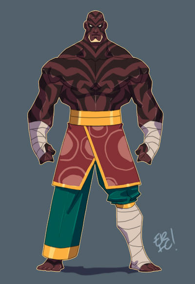 Tribal Warrior by EricGuzman