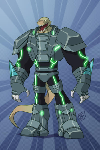 Cyber Gator Commission by EricGuzman