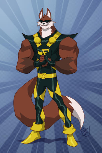 Fox Fury Commission by EricGuzman