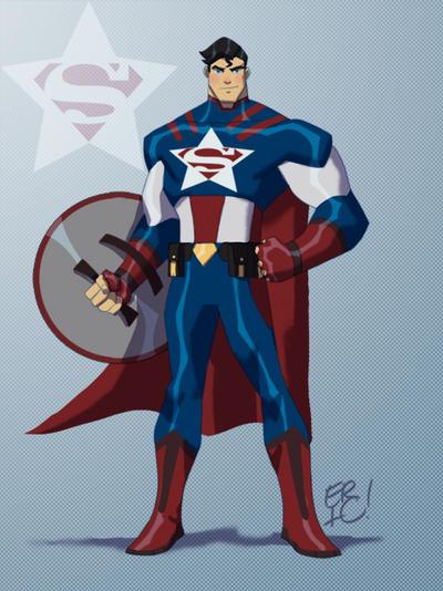 Captain Krypton!! by EricGuzman